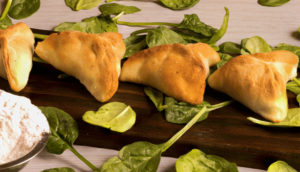 spinach pie (fatayer)