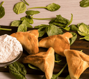 spinach pie (fatayer)