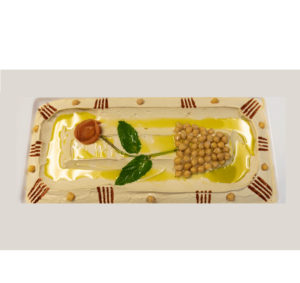 Hommos plate